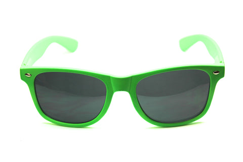 Wayfarer Sunglasses Neon Green with Matte Finish 54mm