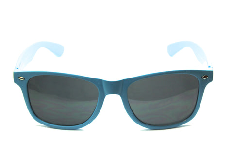 Wayfarer Sunglasses Neon Blue with Matte Finish 54mm
