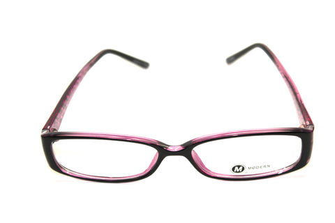 Modern Optical Barb Black/Purple