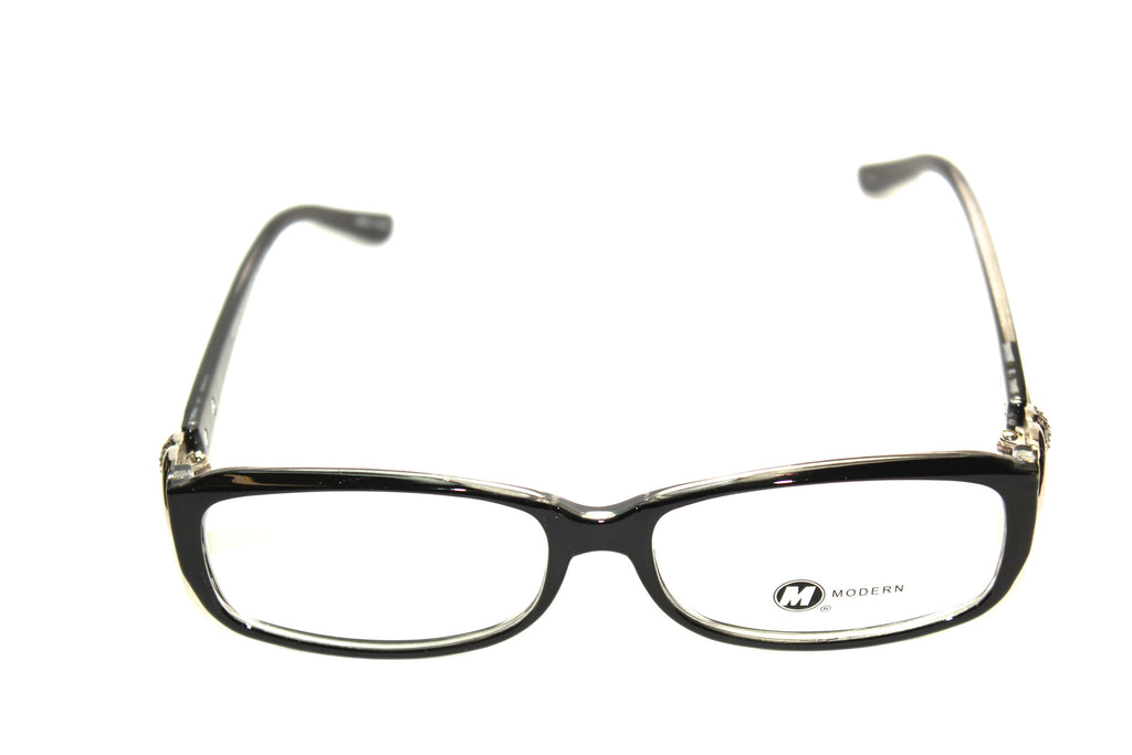Modern Optical Dee Black/Crystal