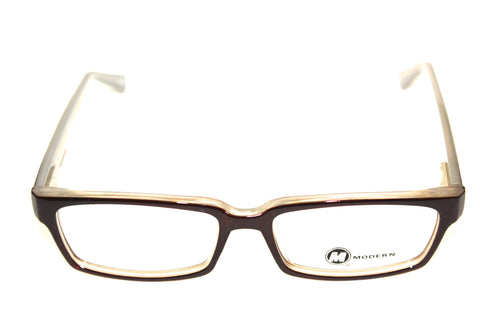 Modern Optical Limit Brown/Tan (52mm) Eyeglasses