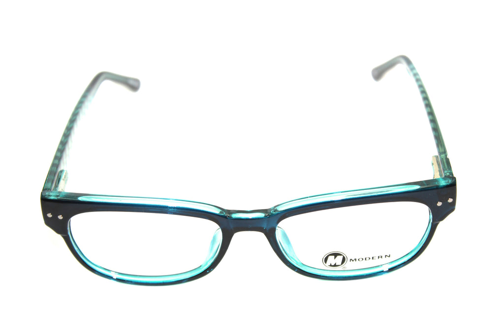 Modern Optical Feline Teal