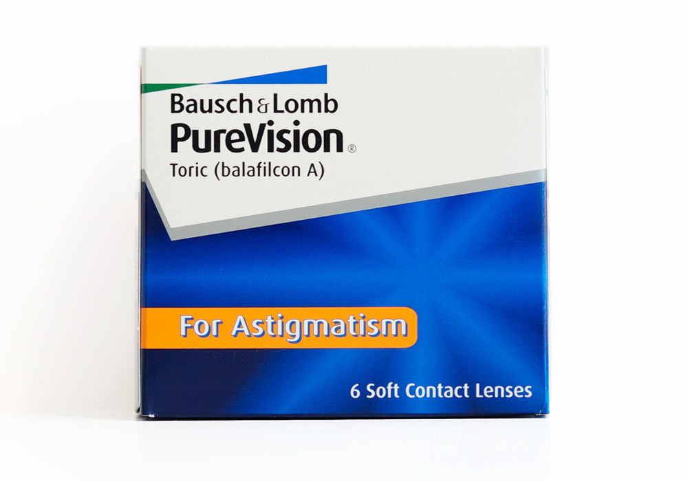PureVision Toric (for Astigmatism) (6-pack)