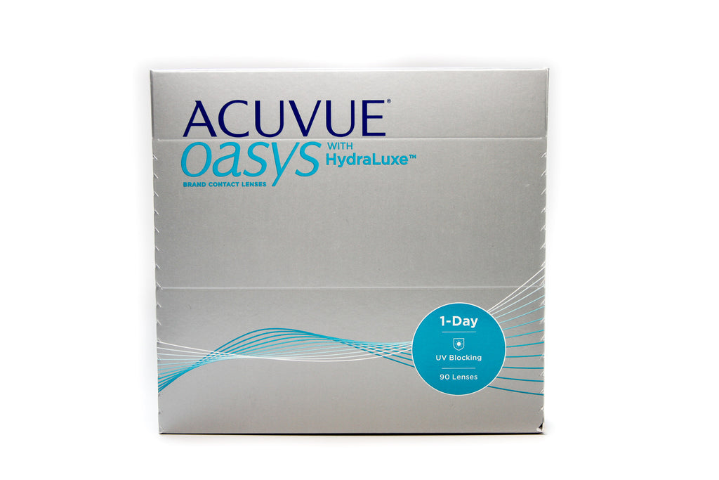 Acuvue Oasys 1-Day with Hydraluxe (90-pack)