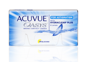 Acuvue Oasys for Astigmatism with Hydraclear (6-pack)