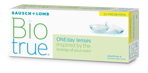 Biotrue ONEday for Presbyopia (30-pack)