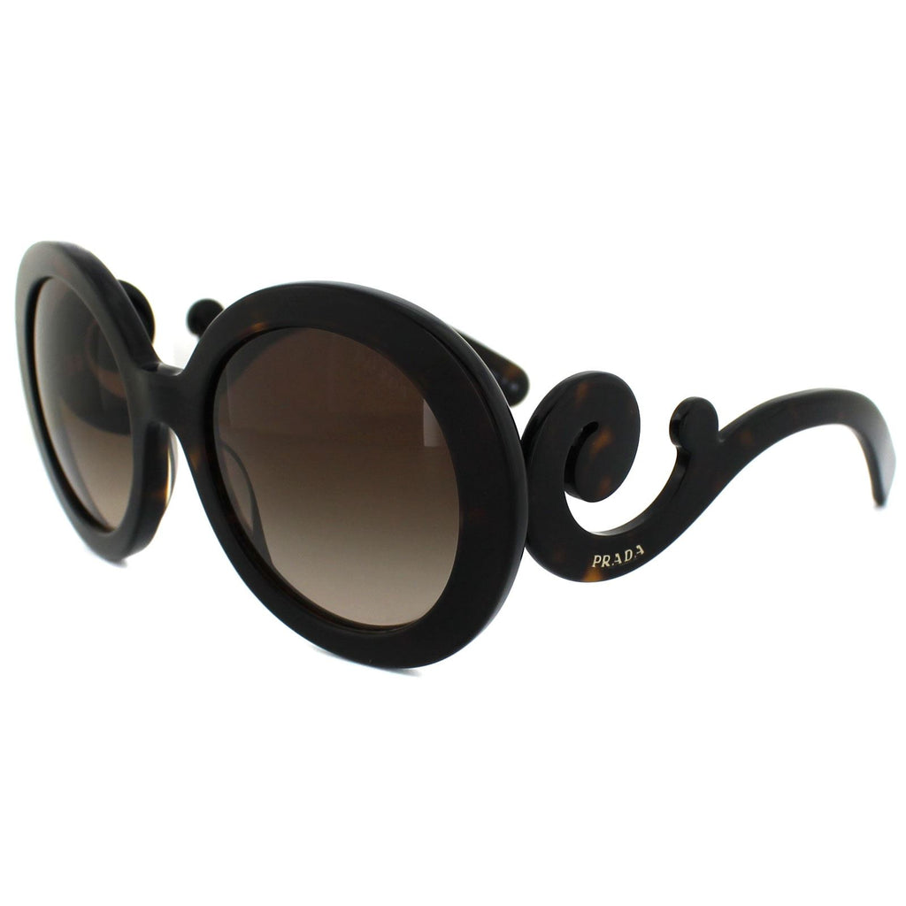 Prada SPR 27N 55 Dark Havana Brown