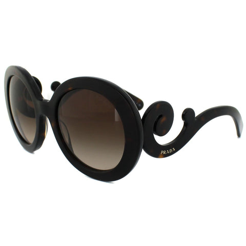 Prada SPR 27O 54 Dark Havana Brown