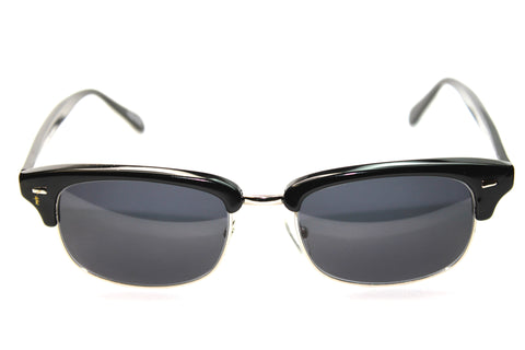 Geek Eyewear - 201 Clubmaster Sunglasses - Black