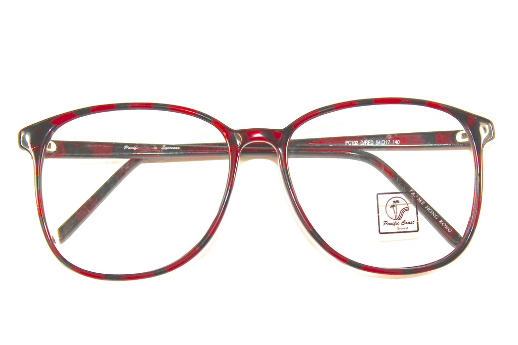 U.S. Eyewear - Pacific Coast Series - PC102 - Dark Red Tortoise Print