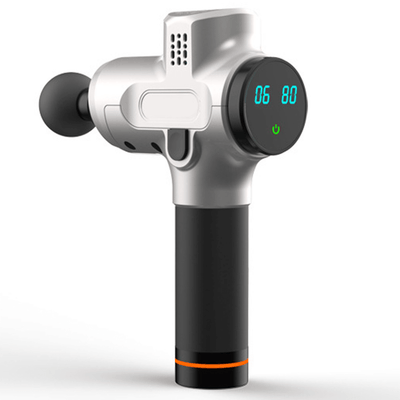 Six speed massage gun with LED display