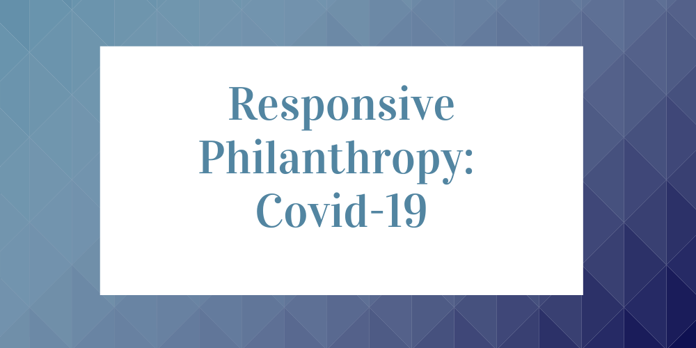 Funders Respond to Covid-19