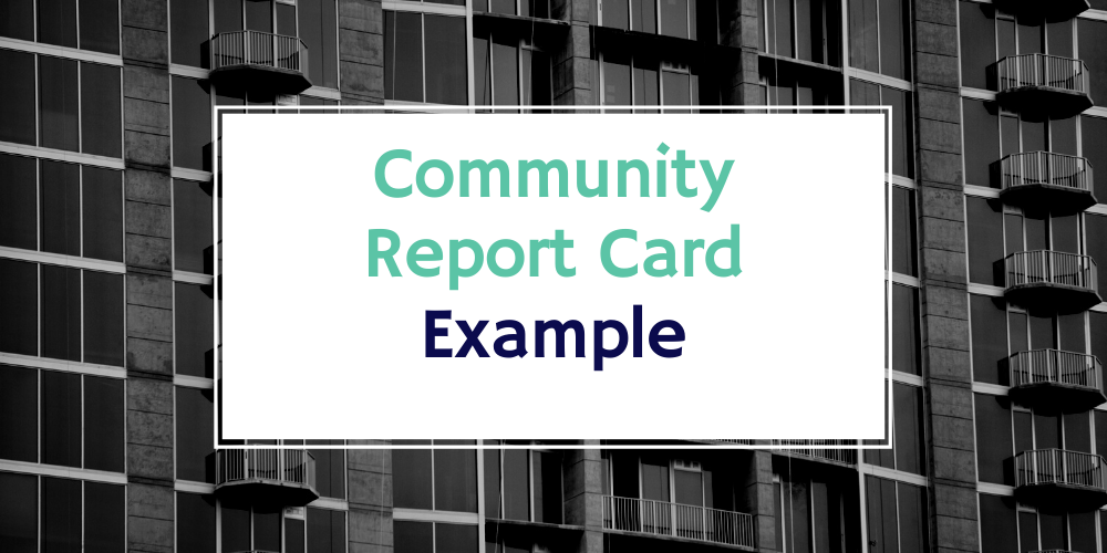 Community Report Card - Example