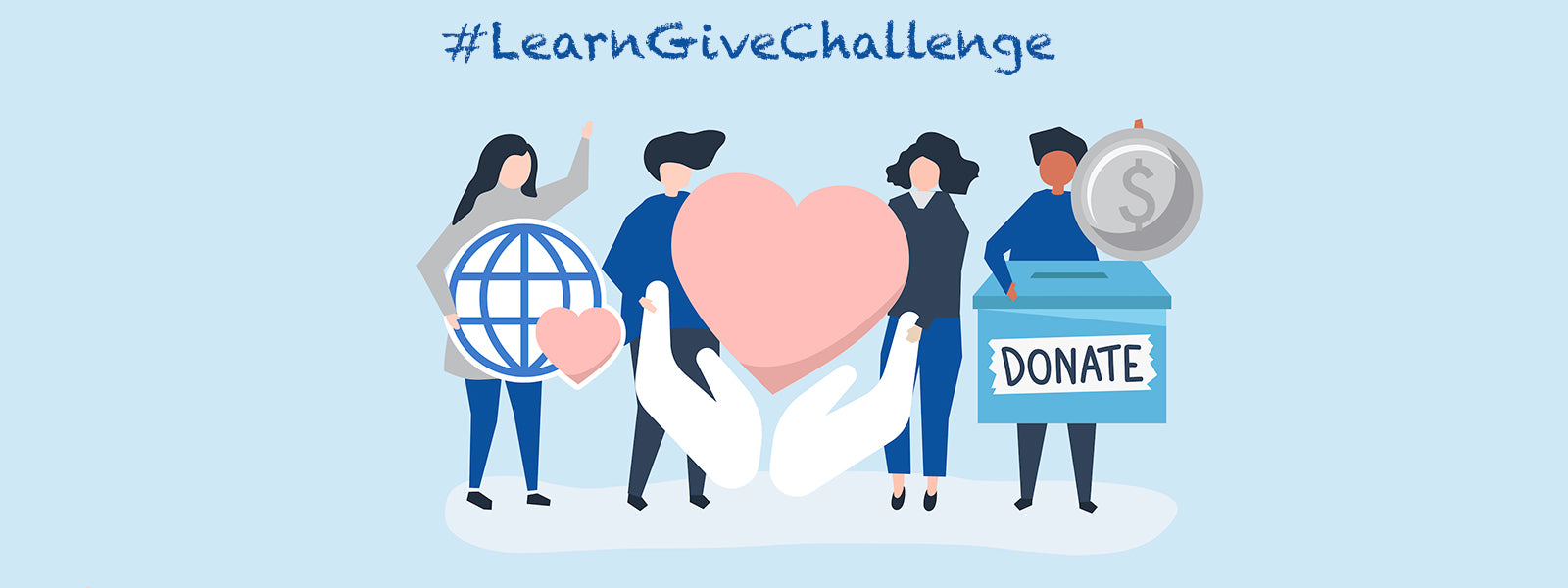 Take the #LearnGiveChallenge