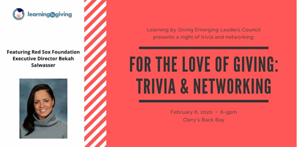 For the Love of Giving! Networking & Trivia