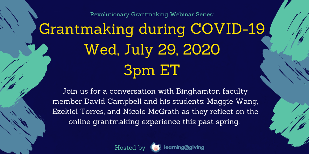 Grantmaking During COVID-19