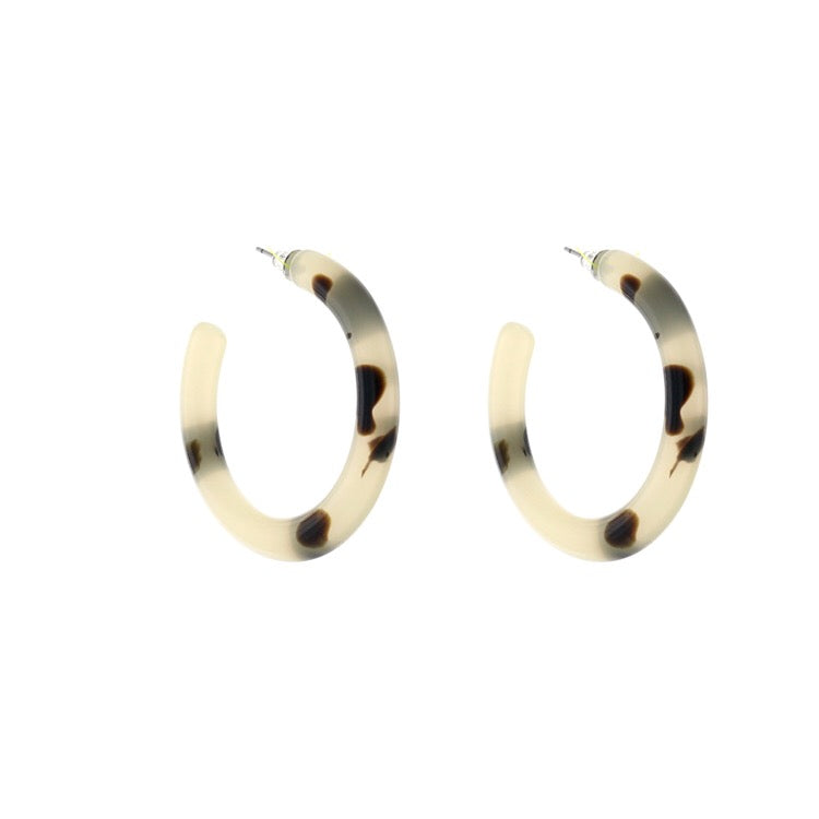C Shape Earrings