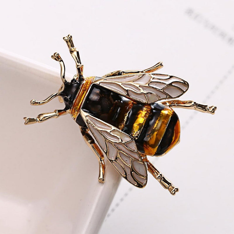 Bumble Bee Brooch Brooches-Fashionista