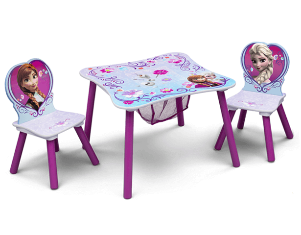 DISNEY FROZEN STG TABLE & CHAIR SET