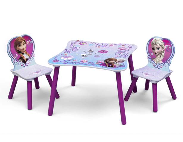 DISNEY FROZEN TABLE & CHAIR SET