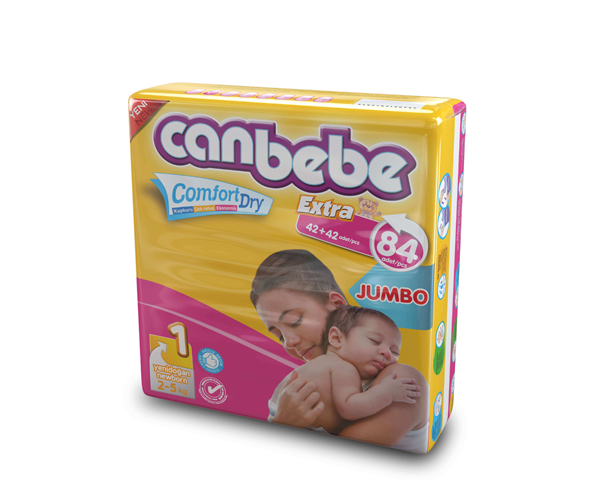 Canbebe Jumbo New Born 84 pcs