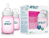 Avent Classic Bottle 260 ML PK2 -Pink