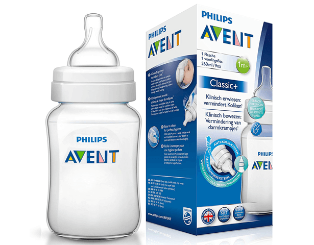 Avent Classic Plus PP Bottle 260ml PK1