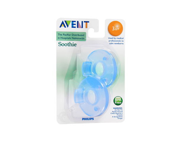 Avent 3M+ Soothie Pk2