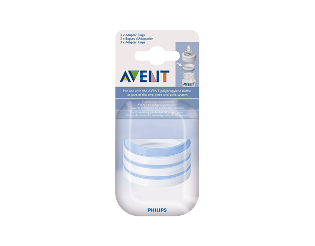 Avent PP Adapter Ring Spare Part PK3
