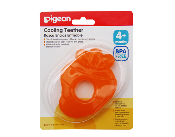 Pigeon COOLING TEETHER CARROT