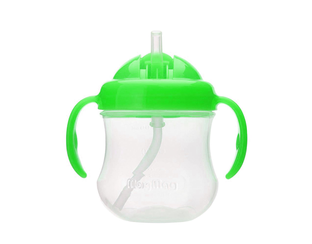 Pigeon Mag Mag Straw Cup Green