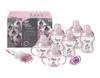 TOMMEE TIPPEE Closer to Nature DECORATED BOTTLE STARTER SET