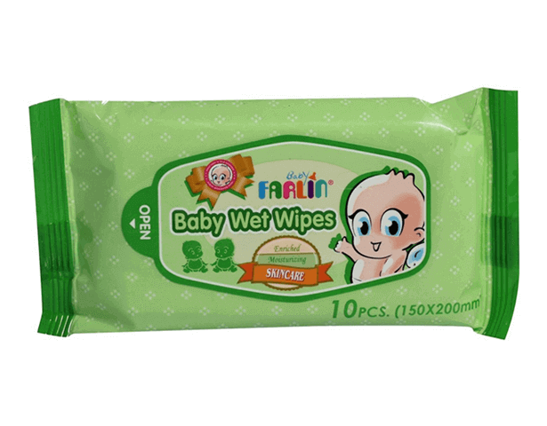 Farlin Baby Wet Wipes Pk-10