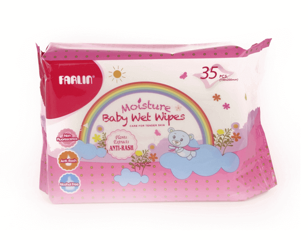 Farlin WIPES 35PCS (ANTI-RASH)