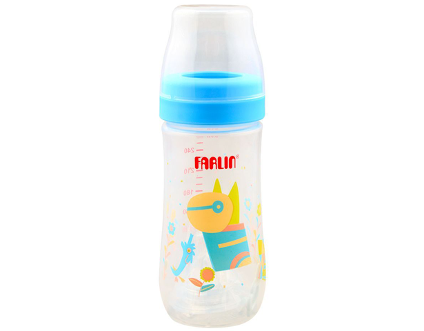 Farlin Silky PP Wide Neck Feeding Bottle 270ml
