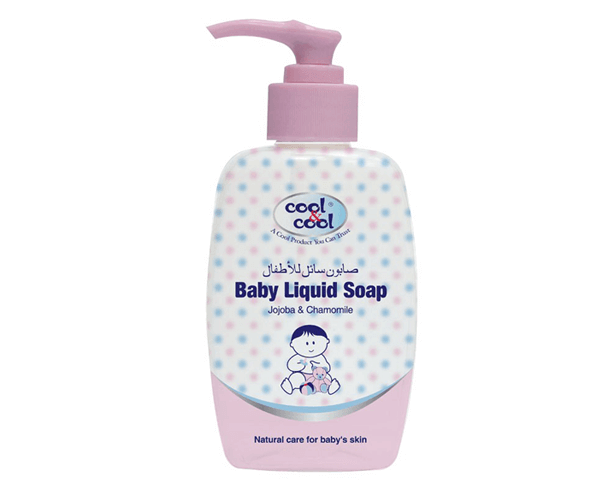 Cool & Cool BABY LIQUID SOAP CHAM.JOJOBA 250 ML