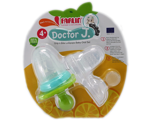 FARLIN GRIP N BITE LOLIPOP BABY ORAL SET