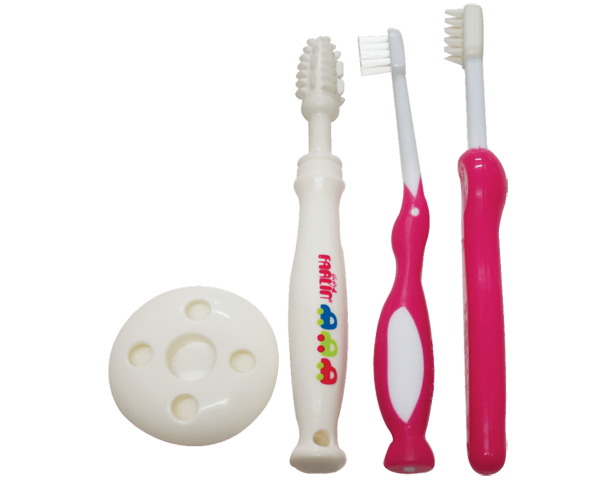 Farlin Three Stages Toothbrush Set