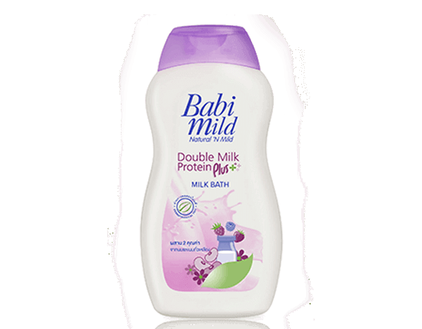 Babi Mild Baby Bath Double Milk Protein 500 ml