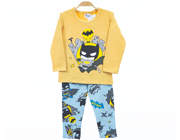Boy Night Suit - Bat Boy