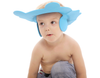Adjustable Baby Shower Hat Blue