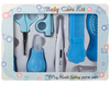 Baby Grooming Kit Scissor Thermometer Clip Set