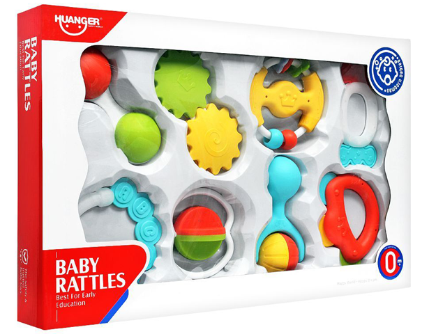 Huanger Baby Rattles 8 Pieces