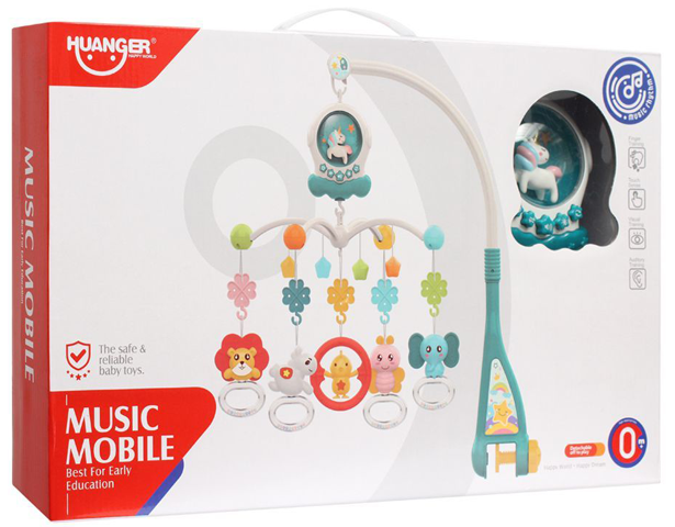 Huanger Unicorn Music Mobile With Light & Music