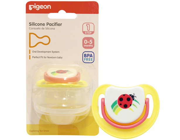 Pigeon Silicone Pacifier - Step 1