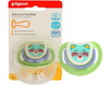 Pigeon Baby Silicone Pacifier Step 2 Green
