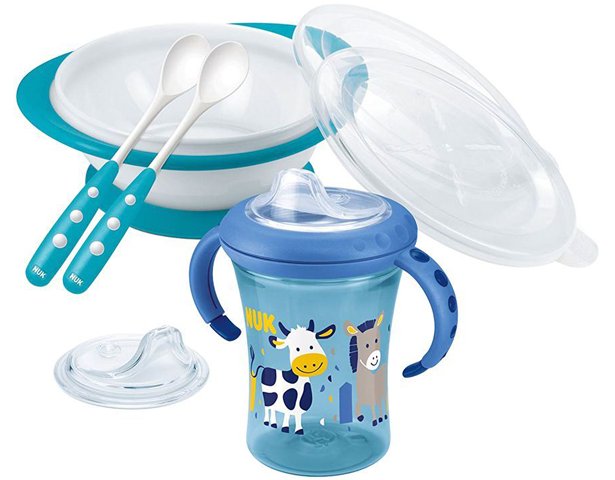 Nuk Baby Learn To Eat Set