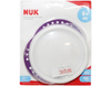 NUK Easy Learners Plate with Lid Non-Slip Handles