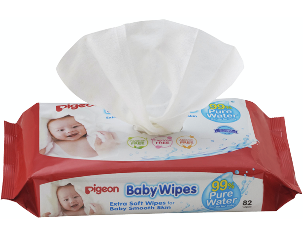 Pigeon Baby Wipes 99% Pure Water Wipes 82S
