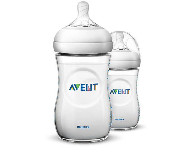 Avent Natural 2 PP 330ml Feeding Bottle PK2